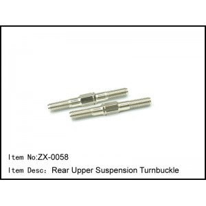 ZX-0058 - Rear Upper Suspension Turnbuckles