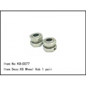 K8-0077 K8 Wheel Hub 4pcs