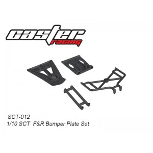 SCT-012 1/10 SCT F&R Bumper Plate Set