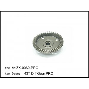 ZX-0060-PRO - 43T Diff Ring Gear Pro