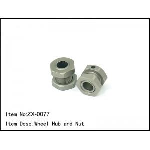 ZX-0077 Wheel Hub and Nut
