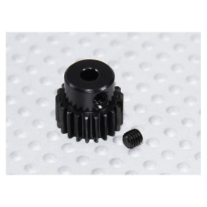HARDENED STEEL 25T 48P SHAFT 3MM PINION GEAR (BAJA)