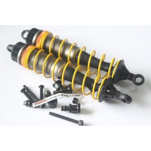 BB-12-YE Threaded Buggy Big Bore Shock Set Rear