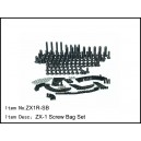 ZX1R-SB ZX-1 Screw Bag Set