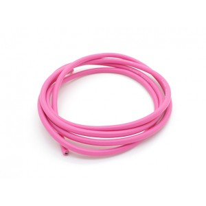 Turnigy Pure-Silicone Wire 14AWG - Pink (10cm)