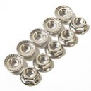 NP0086 NANDA RACING M5 NUTS - 10PCS