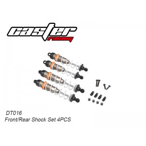 DT016 Front/Rear Shock Set 4PCS