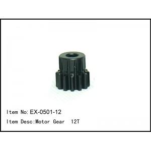EX-0501-12 Motor Gear 12T mod1 Shaft 5mm Baja