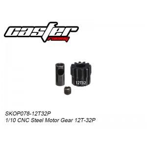 SKOP078-12T32P Pinion Gear 12T 32P Shaft 5mm Baja