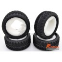 AX-8006 1/10 RC CAR TOURING TIRE 26MM WITH INSERT SPONGE (4PCS)