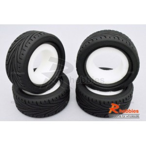 AX-8010 1/10 RC Car AUSTAR Performance Touring Racing Tyre with Insert Sponge (4pcs)