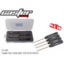 TL-023 Caster Hex Tools Set ( 1.5 /2.0/2.5/3.0mm )