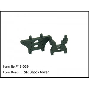 F18-039 F&R Shock tower