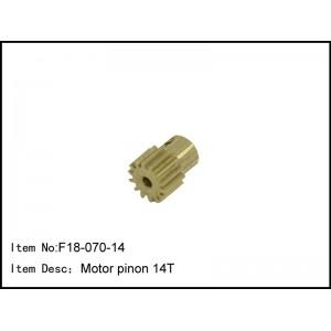 F18-070-14 Motor pinon 14T