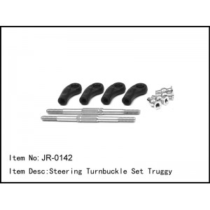 JR-0142 Steering Turnbuckle Set Truggy