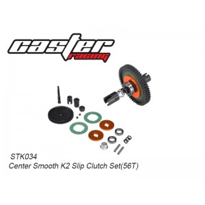 STK034	Center Smooth K2 Slip Clutch Set(56T)