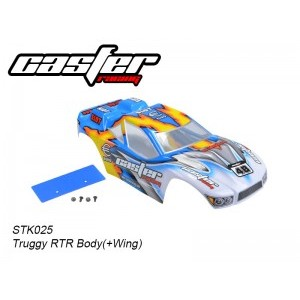 STK025 Truggy RTR Body (+Wing) 1/10