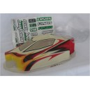 SK106-RE Body Red-Yellow-White +Clear Wing 1/10