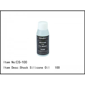 CS-100 Shock Silicone Oil 100
