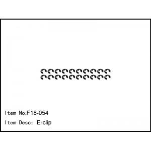 F18-054 E-clip