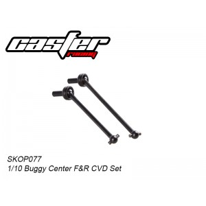 SKOP077 1/10 Buggy Center F&R CVD Set