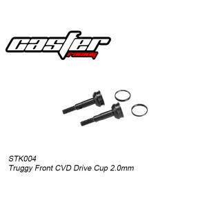 STK004 Truggy Front CVD Drive Cup 2.0mm
