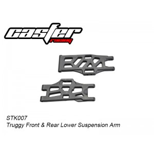 STK007 Truggy Front & Rear Lower Suspension Arm