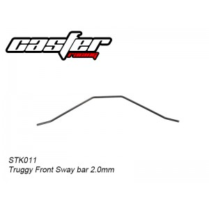STK011 Truggy Front Sway bar 2.0mm