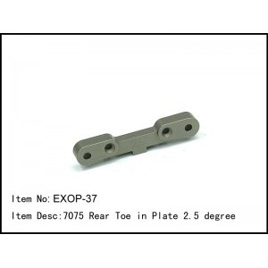 EXOP-37 7075 Rear Toe in Plate 2.5 degree