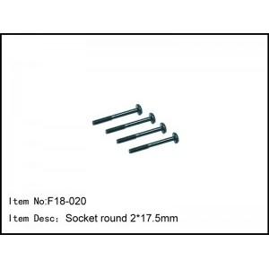F18-020 Socket round 2*17.5mm
