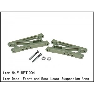 F18PT-004 Front and Rear Lower Suspension Arms