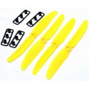 Gemfan 5030 Propeller CW Yellow 4pcs for RC Quadcopter