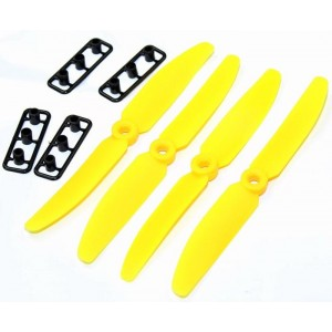 Gemfan 5030 Propeller CCW Yellow 4pcs for RC Quadcopter