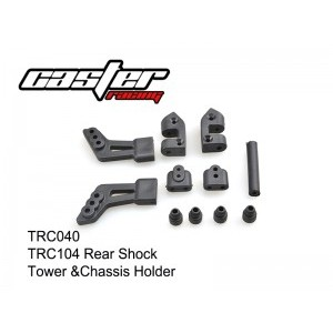 TRC040 TRC104 Rear Shock Tower &Chassis Holder