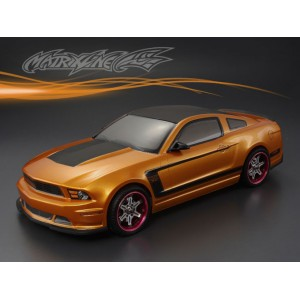 PC201214 FORD MUSTANG BOSS 302 PC 1/10 CLEAR BODY SHELL