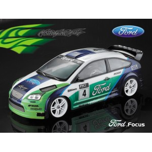 PC201004  FORD FOCUS PC 1/10 CLEAR BODY SHELL