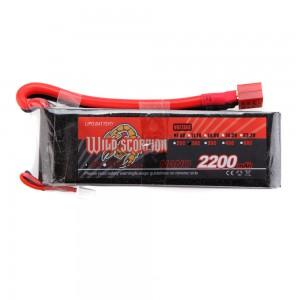 Wild Scorpion 2200mah 2s 7.4v 30c
