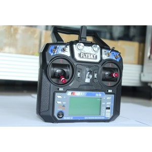 FS i6 2.4G 6CH Flysky Transmitter and Reciever System LCD Screen Mode 2
