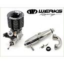B2 .21 ENGINE WERKS RACING + WERKS 2058 EXHAUST KIT (COMBO)