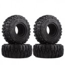 Super Swamper 2.2 120mm Mud Grappler Rubber Tyre 1/10 Rc Car Crawler