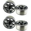 [760910] 1.9 HM Beadlock Alloy Wheel Bar-6A 4pcs