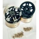 [760913] 1.9 HM Beadlock Alloy Wheel Bar-5A 4pcs
