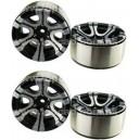 [760914] 1.9 HM Beadlock Alloy Wheel Twin-6D 4pcs