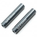 Yeah Racing Threaded Aluminum Link Pipe 6x30mm 2pcs GunMetal [YA-0421]