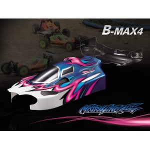 MTRIXLINE PC201016/A B-MAX4 1/10 Clear body
