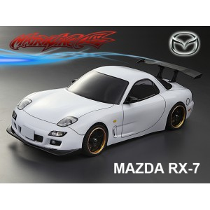 MATRIXLINE PC201404 MAZDA RX-7 PC 1/10 CLEAR BODY SHELL