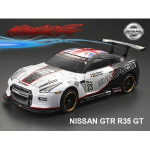 MATRIXLINE PC201403 NISSAN GTR R35 GT PC 1/10 BODY SHELL