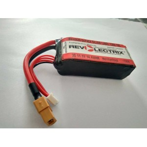 Revo Lectrix 1300mah 3s 11.1v 70c Lipo Battery