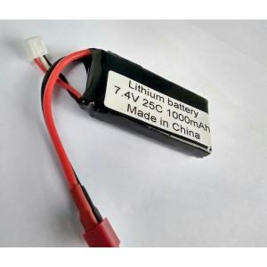 Vant 1000mah 2s 7.4v 25c Lipo Battery