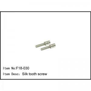 F18-030 Silk tooth screw F18T